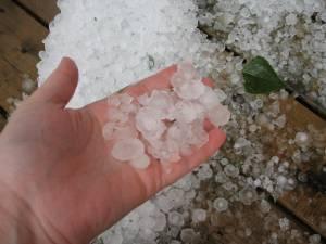 Crazy hail